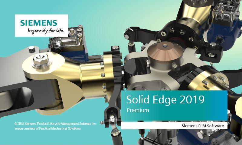 Uruchamianie Solid Edge 2019 w różnych wersjach językowych