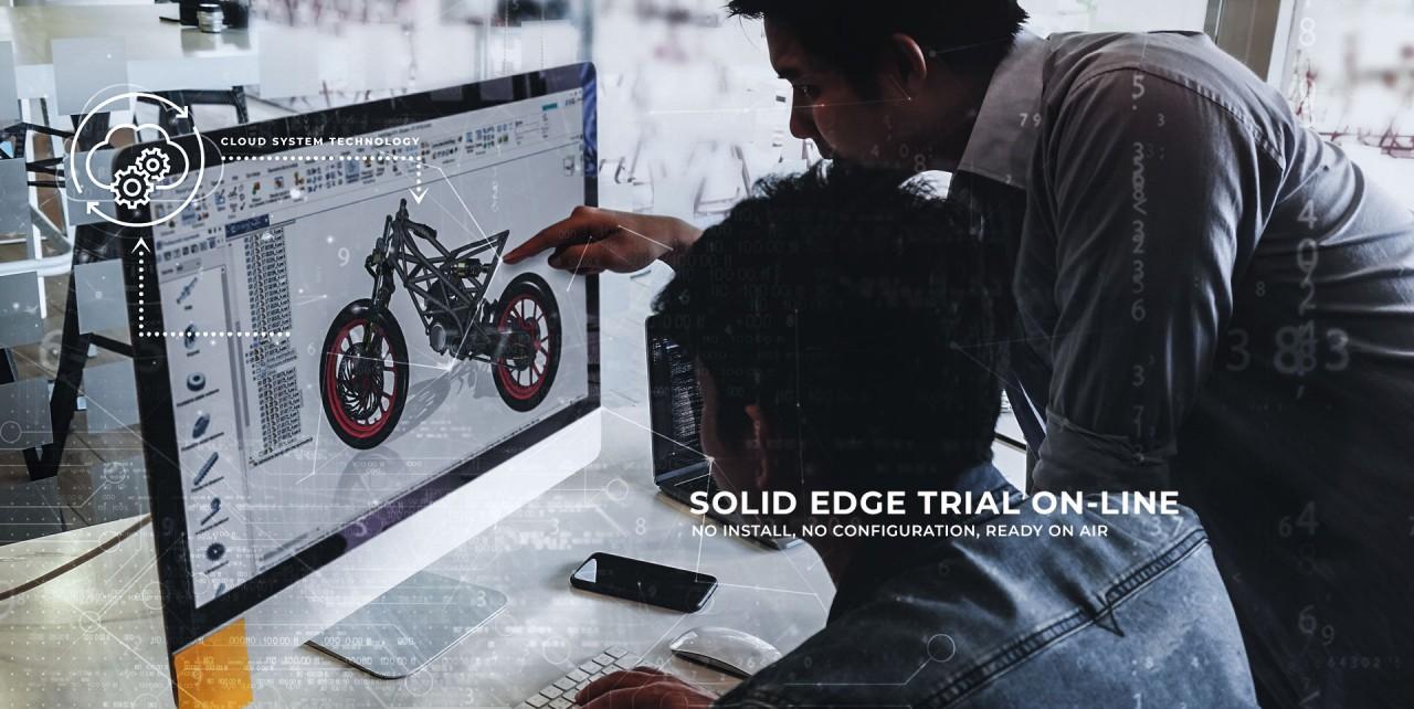 Solid Edge TRIAL  - TESTUJ SE 2019  ONLINE!