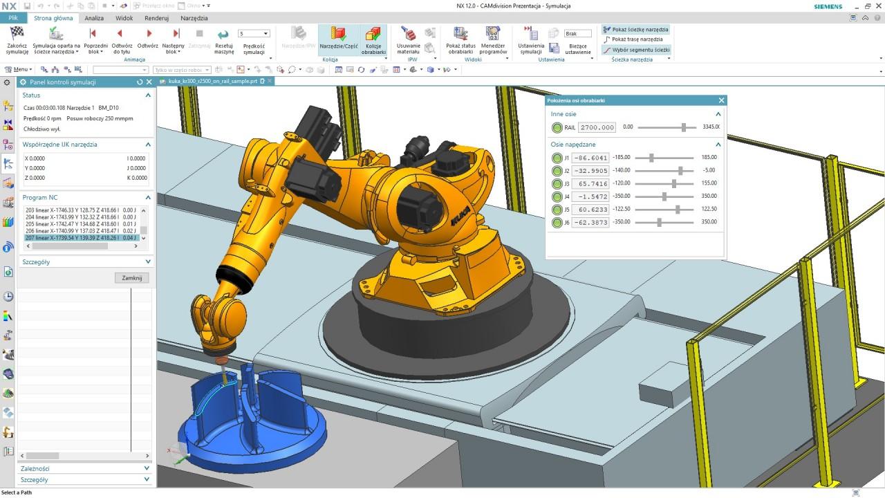 Rozwiązania dla Robotyki – Industry 4.0 & CAMdivision