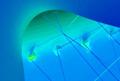 Symulacja wytrzymałościowa elementów drukowanych 3D – siatki lattice