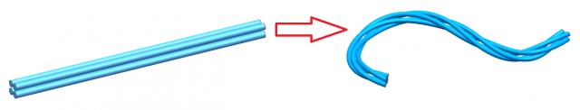 Deformacja części w NX