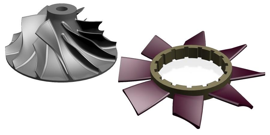 Turbomachinery - obróbka turbin i wirników w NX CAM