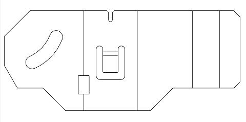 Import krzywych z pliku DXF/DWG do szkicu