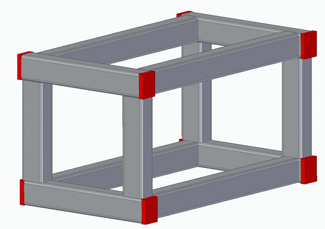 Tworzenie lic zamykających element ramowy