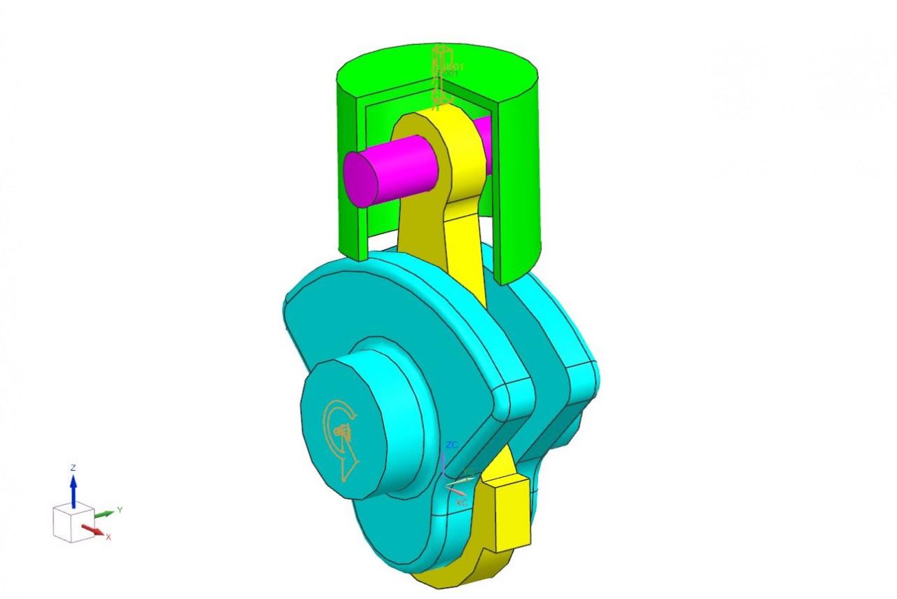 Ruchliwość mechanizmu w NX Motion