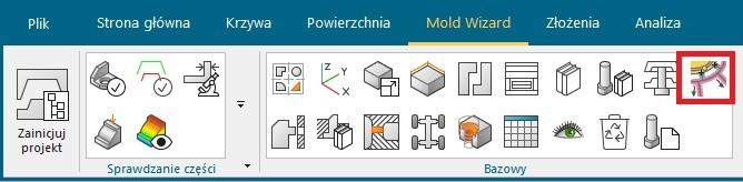 Odpowietrzenie form - Mold Wizard