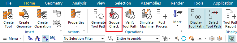 Sprawdzenie narzędzia i oprawki