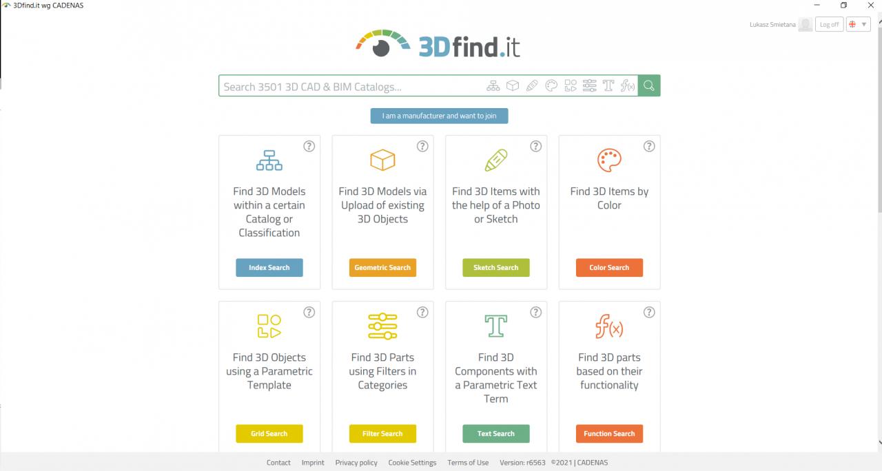 3Dfind.it - CADENAS w Solid Edge 2021